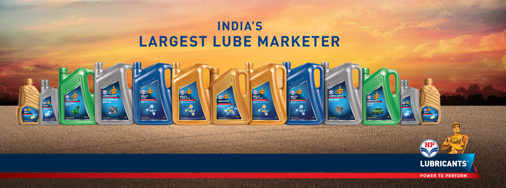 India's largest Lube Marketer